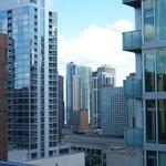 Desde la terraza  del hotel