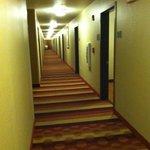 low ceiling halls