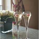 Enjoy a chilled glass of Champage
