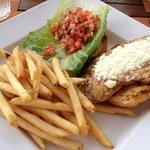 Jerk Spice Chicken Sandwich & Fries