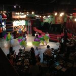 belly dance in Mexican restaurant