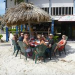 Yep - we really had our lunch on the beach....