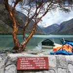 Nearby glacial lake