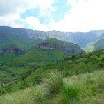 Hiking trail to Tagula-falls (12 km from lodge)