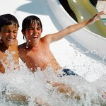 Kids at the Mini Water Park