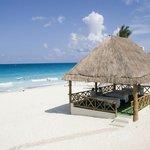 Massage beach area