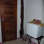 """Small fridge in """"Honeymoon"""" room - a feature not all rooms h"""