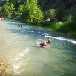 Body rafting for kids