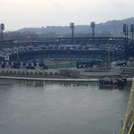 View of PNC Park from room