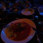 Very nice food.