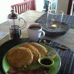 Banana Pancakes breakfast