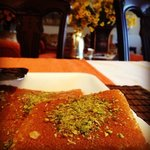 kunafeh from Jabri at my friend's house
