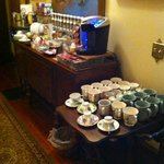 Swann Inn Snack Table