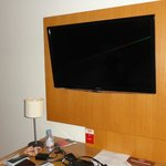 LCD TV is given in both rooms in two bedroom apartment (Only french Channels on Cable)