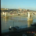 View from the room on the 7th floor-Chain Bridge