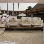 Cabana's on the beach