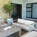 reception area outdoor lounge