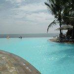 Infinity pool at Baobab