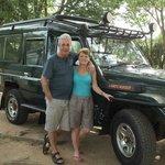 our safari jeep