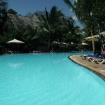 one of the pools at baobab resort