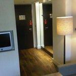 Corridor of room 217
