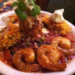 Chile Rellano shrimp mexicana