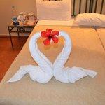 Die Zimmer werden täglich gereinigt, mit frischem Wasser versorgt und liebevol