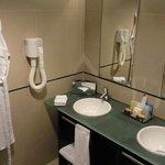 Bathroom in the annexe