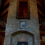35 ft Granite Fireplace