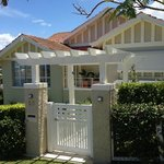 Main entry to Clayfield B and B