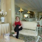 Lobby is Old Italian Style.