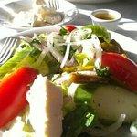 the Greek salad at Ephesus