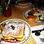 The H.W. Park - Cream cheese & Berry Stuffed French Toast