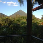 View from Room A4 of the volcano :)