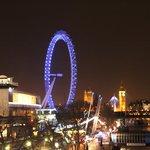 from Waterloo Bridge view