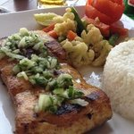 The amazing Grilled Marlin
