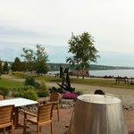 back patio / lake view / smores!