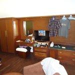 """Wohnwand im Schlafzimmer """"DeLuxe"""""""