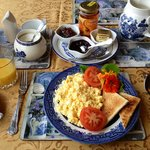 Gorgeous breakfast