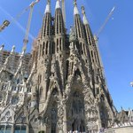 La Sagrada Famillia de Gaudi