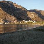 Vue du port de Kamares