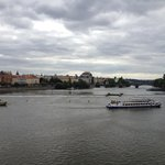 view of valtava river, cruises