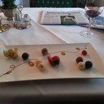 Praline -- beautifully arranged.