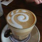 Cafe latte @ Manuka