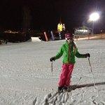 Ski fahren mit Junior-Chefin sehr gut