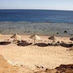 Strand für Ruhesuchende