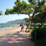 Пляж Эндам-отеля