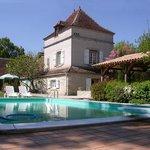 Domaine du Cloucau côté piscine