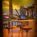 Vie bar & Resturant - view to waterway