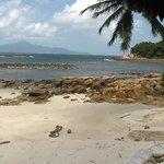view if Pulau Tinggi from Beach 2